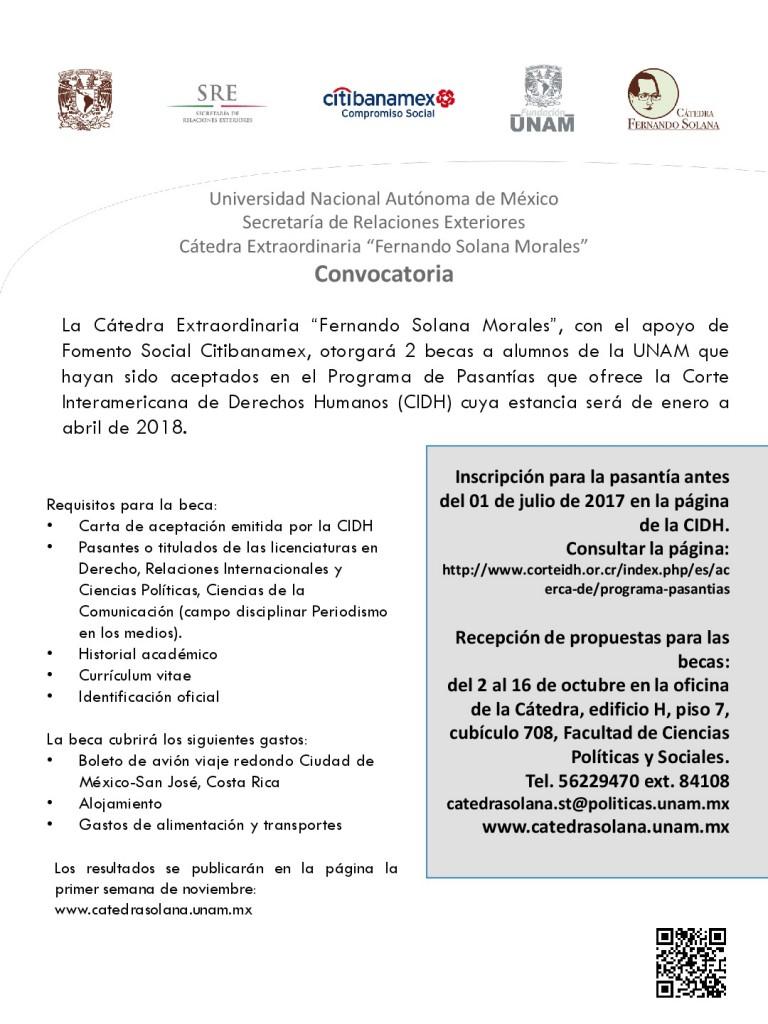 Cartel borrador. Corte Interamericana 2017-001
