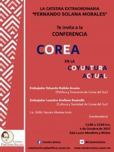 CARTEL sobre COREA-001