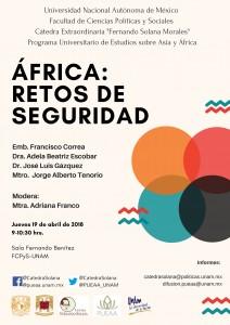 Cartel. África retos de seguridad